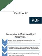 Klasifikasi AF