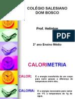 Física PPT - Calorimetria