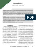 Análise Química Da Própolis