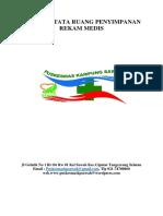 Pedoman Tata Ruang Penyimpanan Rekam Medis