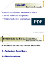 Física PPT - Física Moderna - Final do Século XIX