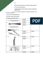 Actividades Endodoncia