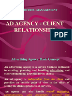 Client Agency Reln Adv