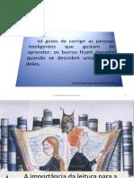 A importância da leitura para a produção de textos 2.ppt