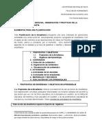 Ficha de Catedra- Elementos Para Una Planificacion- Gvitrz y Palamidessi