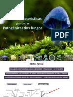 Fungos_Aulas 1_2019 Caracteristicas Gerais e Patogenicidade