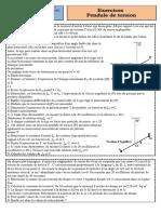 Exercices 1 Oscillateurs Mécaniques (1)