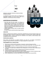 Hd Series Deep Bed Filter User Manual Spanish