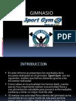 Presentacion Gimnasio Sport Gym