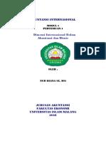 MA Dimensi Internasional Dalam Akuntansi Dan Bisnis