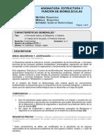 Gb Estructura y Funcion de Biomoleculas 2016 17-Final