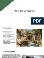 Arquitectura Vernácula