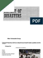 Disaster Impact