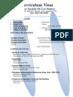 Curriculum Juliana Jazmin