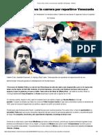 Rusia, Irán y China - La Carrera por Repartirse Venezuela