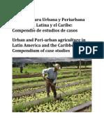La agricultura urbana y periurbana en America latina