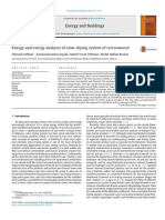 2014 Energy and Exergy Analyses of Solar Drying System of Red Seaweed