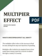 The Multipier Effect