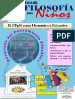 Afiche Programa Filosofía para Niños (PFpN)