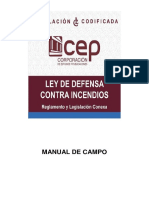 Manual de Campo Ley de Defensa Contra Incendios 2