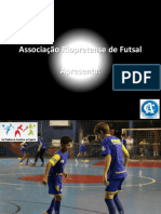 Apresentação Projeto Rio Preto Futsal II 2013