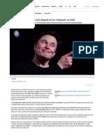 Elon Musk (Tesla) Anuncia La Llegada de Los 'Robotaxis' en 2020 _ Creadores