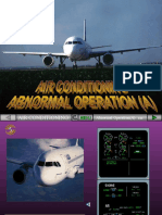 Air Conditioning Abnormal Operation (a)