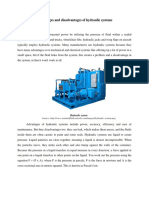 Advantages and disadvantages of hydraulic systems.docx