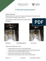 Shimazdu RF-5301 Instructions
