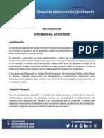 USMA 2017 Diplomado en Sistema Penal Acusatorio