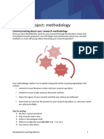 Planning and Construction Methodology 2016