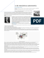 Fundamentos del funcionamiento automotriz