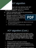 AOstar Algorithm