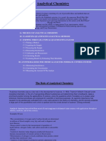 Analytical Chemistry Basic Concepts