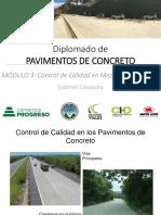 Control de Calidad en Pavimentos de Concreto - Diplomado USAC Abril 2019.pdf