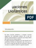 ecuaciones diofanticas