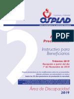 Manual Discapacidad 2019 Beneficiario