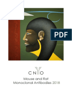 Mouse and rat monoclonal antibodies 2018