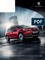 Peugeot 2008 specification