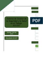 Guia Para La Implementacion Del SG - SST-1
