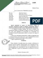 AI 749513 AgR / RJ - RIO DE JANEIRO