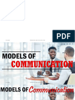 Models of Communication Ppt