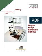 Porter Pfm4000 Parts Spanish
