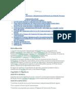 Ley de Contrataciones- Monografía