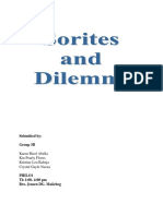 85124087 Sorites and Dilemma