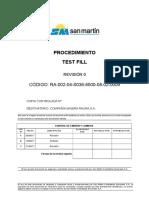 RA-002-04-S036-8500-08-02-0009 Test Fill
