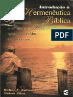 Introdução à Hermeutica Bíblica - Walter C. Kaiser Jr. e Moisés Silva.pdf