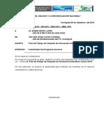 Plan de Trabajo e Informe de Van Can Cochapata 2018