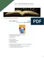 Profteresa.net-Leandro Rei Da Helíria Teste de Aferição Da Leitura