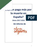 Quién Paga Más Por La Muerte en España FINAL